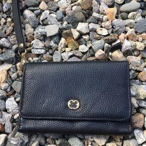 Jeun Bang blk wallet w/credit card holders